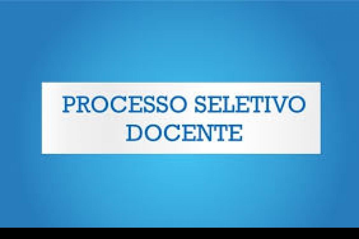 PROCESSO SELETIVO DESENVOLVIMENTO DE SISTEMAS